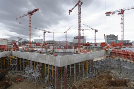 Suivi de construction ministère de la défense.Paris 75015.19 mars 2013